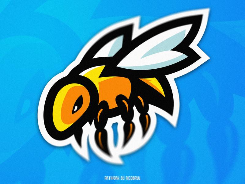 Bee Esports Mascot Logo