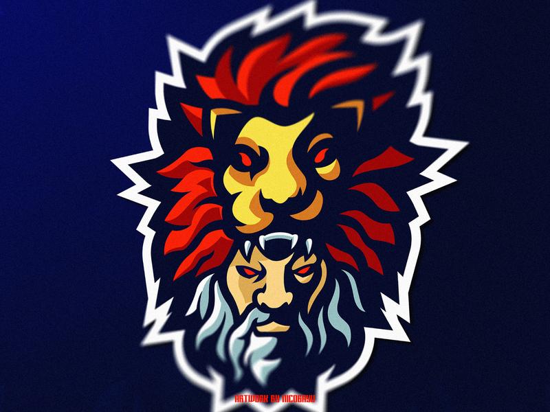 Viking Esports Mascot Logo