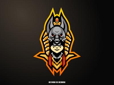 Anubis Esports Mascot Logo