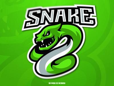 Snake Esports Mascot Logo