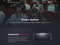 Dreamcinemavr system