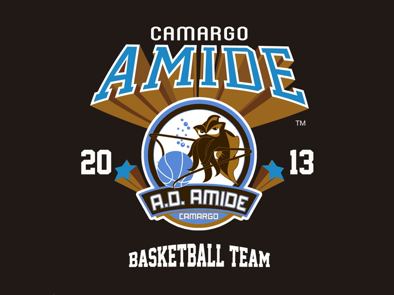Amide Basketball T-shirts basketball logo basketball tshirt camargo amide