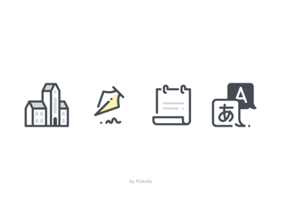 School icons icons set illustration icondesign icons dribbble icon app icons pack high school university vector pictogram icon statement science foreign language lecturer teacher study education school