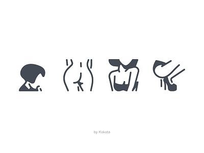 xxx illustration app icons set icons pack vector icons pictogram icondesign icon xxx body renewal sexy body blowjob sex