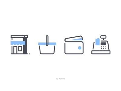Shop / Payment shop payment payment method truck food truck paper bag wallet purse coins money app hand finance business icon iconpack vector pictogram icons set illustration icondesign