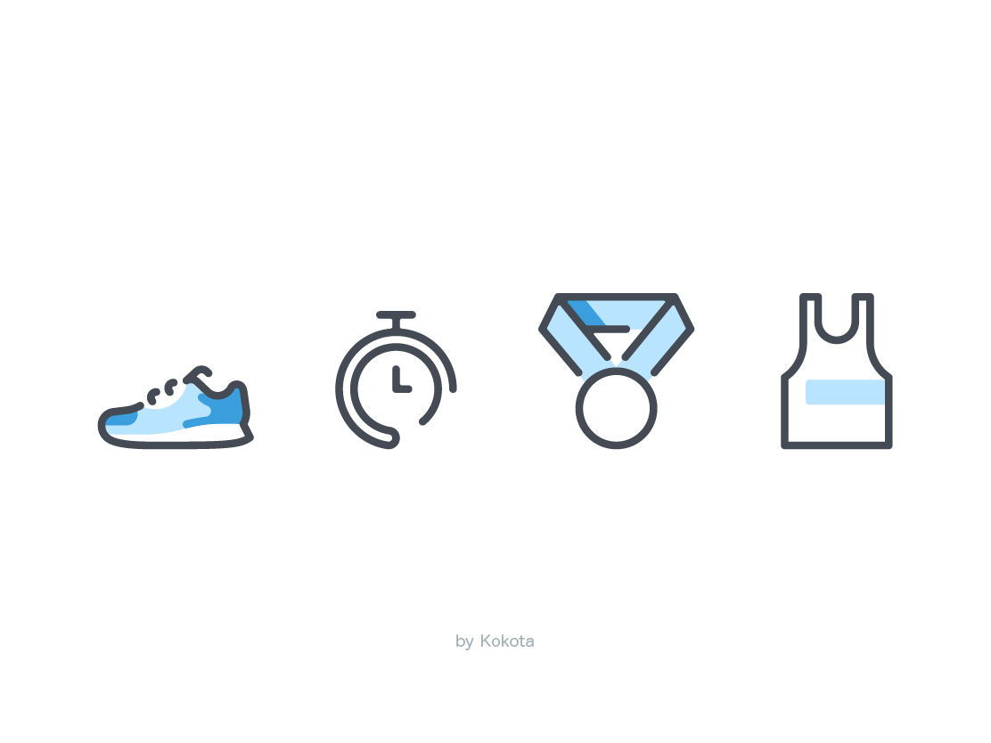 Sport icons pictogram icon watch timer time stopwatch uniform winner sports prise medal game sport sneaker shoes running run marathon fitness