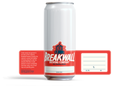 Breakwall Stock Label