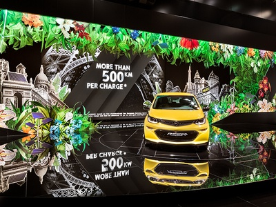 Opel Paris Motor Show opel eventlabs creative direction exhibition design spatial communication