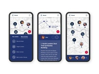 London map icons mobile app london map ux