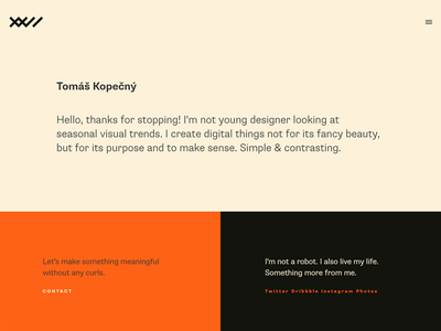 New web in progress webdesign layout font supriasans simple design website web