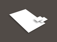 stationary paper card perspective - Stationary mockup freebie