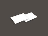 stationary card perspective - Stationary mockup freebie