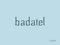Badatel typeface