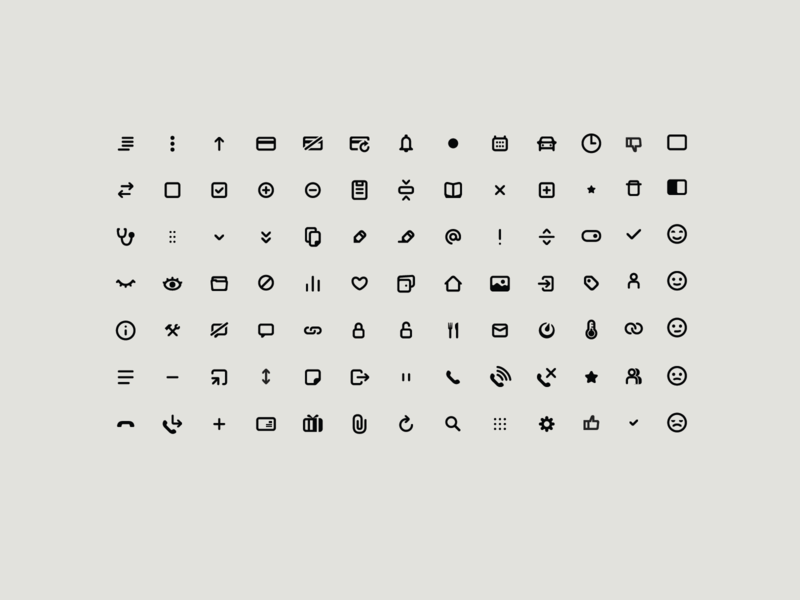 Icons illustration ui icon font webapp web design icon design iconography icon set icons icon