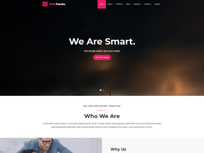 WebPanda Default Template design css3 bootstrap html5 yankeeinfoweb retina ready clean modern blogs portfolio creative agency corporate creative minimal yankeethemes resonsive ui  ux design webdevelopment webdesign