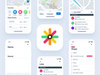 Nomado — Bus tracking app
