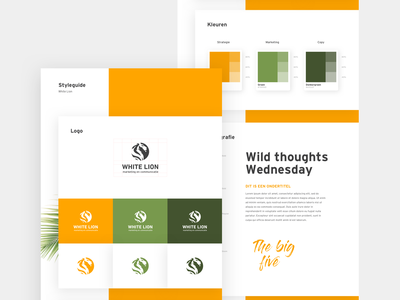 Styleguide design design branding graphic design logodesign logo identity styleguide