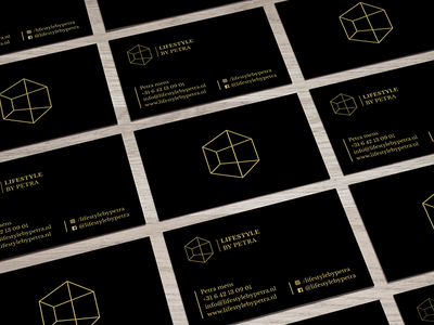 Business card lifestyle identity logo business card