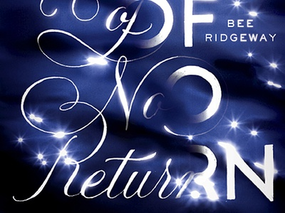 The River of No Return lettering book cover killed