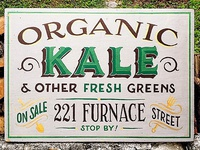 Kale Sale Sign
