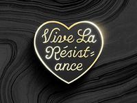 Vive La Résistance Pin