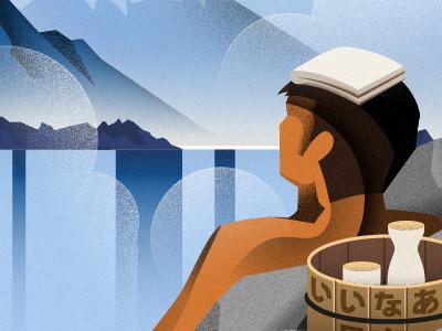 Onsen II illustration