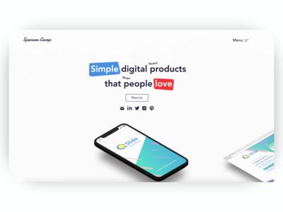UX, Product Design Portfolio (spencercamp.com)