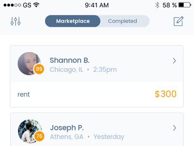 Peer-to-Peer Mobile Lending App