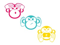Three Wise Monkey