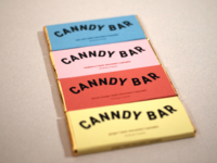 CANNDY BAR | cannabis chocolate bar packaging by Mild Tiger
