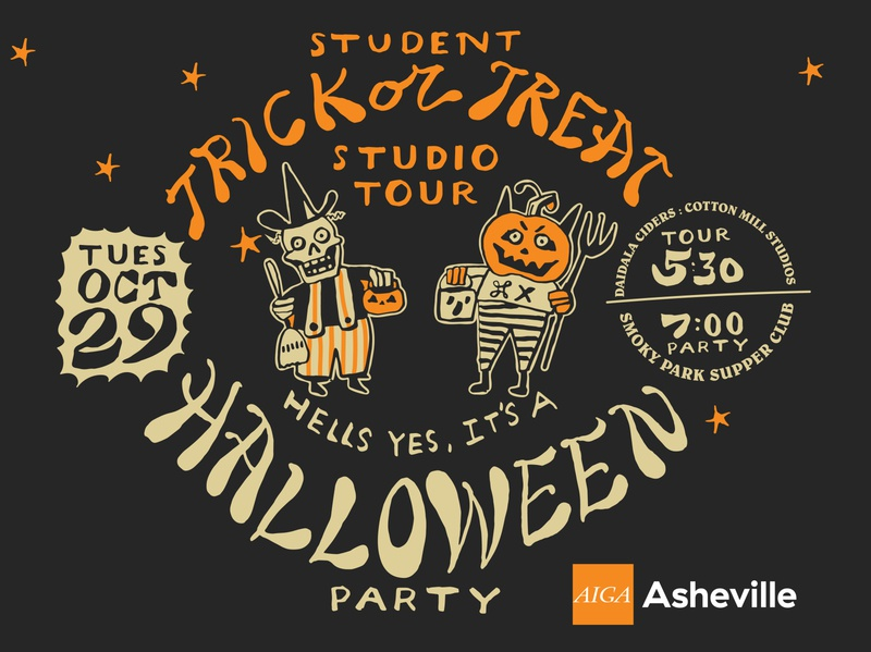 Student Trick or Treat Studio Tour