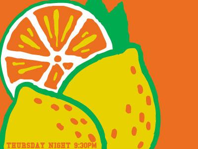 Jen and the Juice Promo lemon orange fruit juice