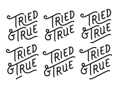 Tried and true dribbble