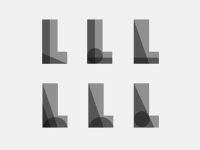 Local Life logo, take #52 bw blackandwhite typo typography lettering exploration identity branding logo