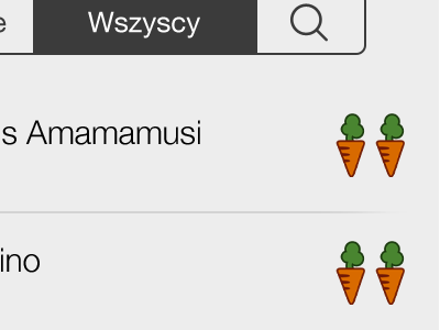 Najedzeni Fest App Detail icons browse ui design festival food items list icon ios app mobile