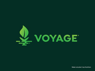 Proposed Identity sailboat wave ripple plant leaf water fertilizer