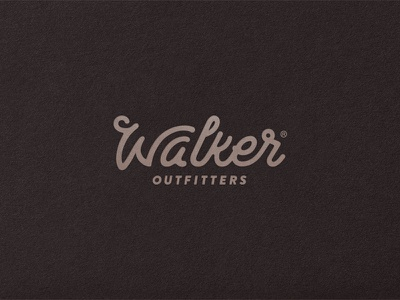 Outfitter Identity vintage heritage script typography customtype type