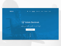 Website for handicapped man Vasek Beranek