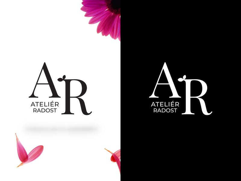 Logo for florist's florist minimal clean flower logo identity brand