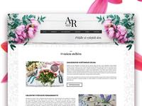 Webdesign for florist's
