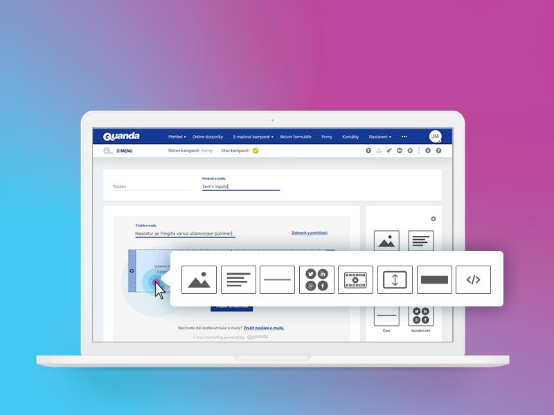 UI/UX E-mail marketing tool design webdesign tool email marketing ux ui