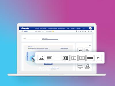 UI/UX E-mail marketing tool
