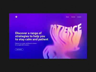 Landing page header header article design website design colorful design