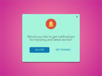 Pop-Up/Overlay | DailyUI #016