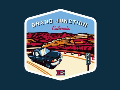 Road Trip Badges - Grand Junction