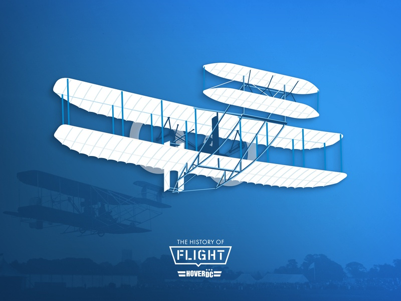 Wright Brothers team erickson vector signage washington dc hoverdc view of dc design wright brothers illustration aviation
