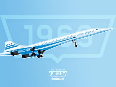 The Concorde flying history of flight plane concorde jet aviation illustration hoverdc signal flight washington dc view of dc