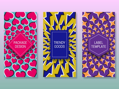 Optical illusion packaging design