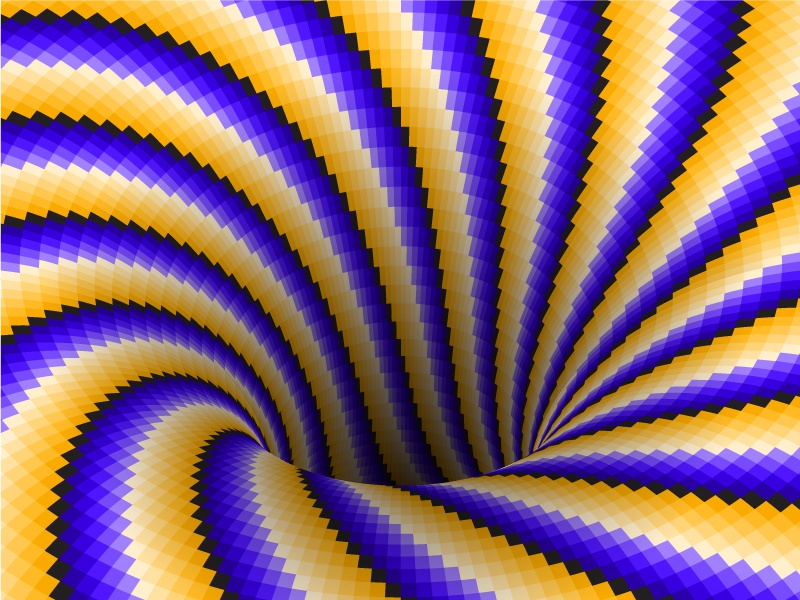 Hole rolling tornado motion abstract typhoon patterned hole spiral moving illusion optical
