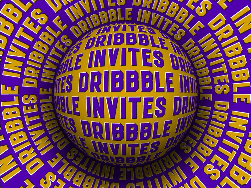 I have 2 invitations best shot send profile portfolio designer graphic invite invitation dribbble